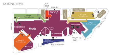 galleria mall map map galleria dallas