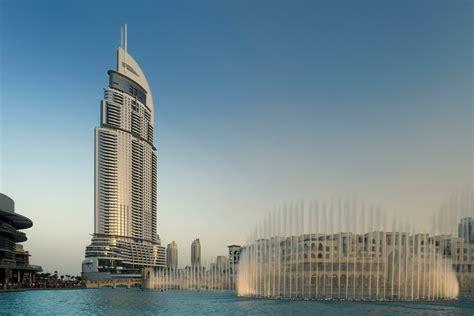 The Dubai Mall And The 5 Luxury Address Hotel In Address Downtown Dubai Violente Incendie Dans Un H 244 Tel 5