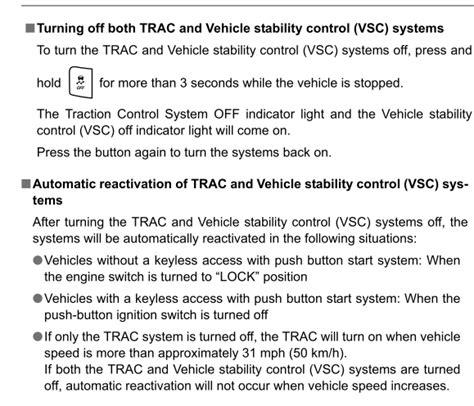 Toyota Check Vsc System Message Vsc Sport Mode And Trac Scion Fr S Forum Subaru