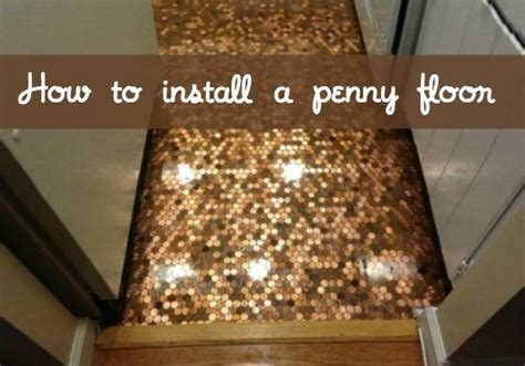 How To Lay Tile Backsplash In Kitchen how to install a copper penny floor a made in usa diy