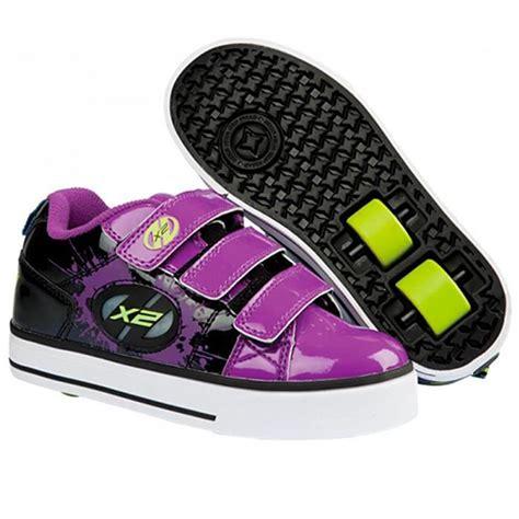 roller shoes heely s speed x2 roller shoe purple black