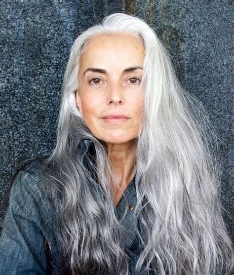 stylish gray hair 30 stylish gray hair styles for short and long hair part 17