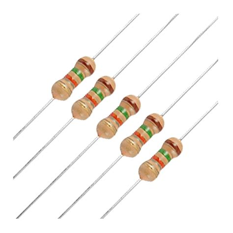 define tolerance of resistor with one exle 50 x 1 4w 250v 1 5k ohm 1k5 axial carbon resistors j9h2 ebay