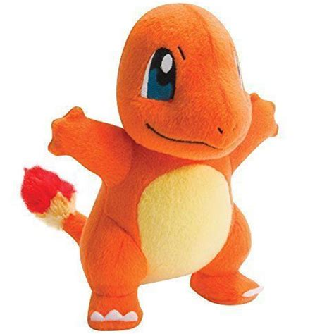 Handmade Stuffed Toys - handmade figure charmander plush doll 9 quot japanese