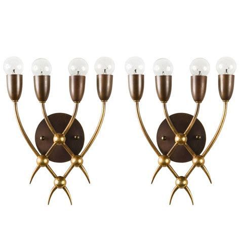 Sconces Modern Pair Of Sconces By Arredoluce Modern Wall Modern And Lights