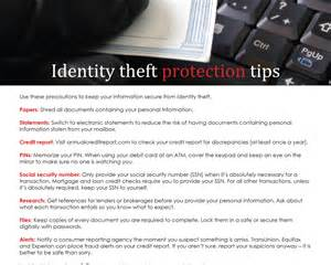 farm identity theft protection tips first tuesday journal
