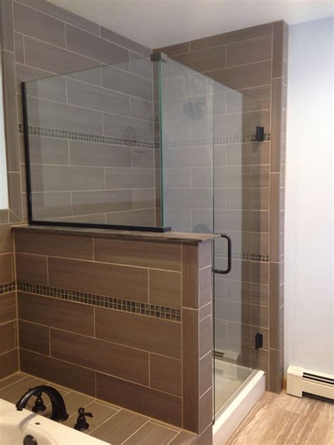 seamless shower door finished product seamless glass shower door addition