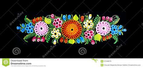imagenes de flores mexicanas dise 241 o mexicano im 225 genes de archivo libres de regal 237 as