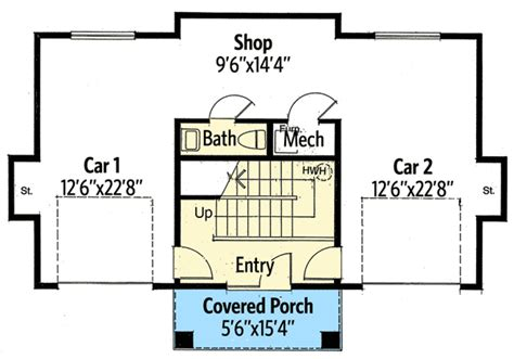 Texas Country Guest House Plan 12528rs 2nd Floor Hill Country Guest House Plans