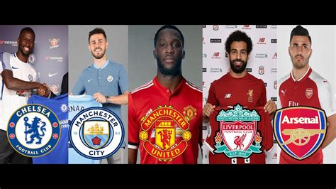 epl table transfer news premier league transfer news 2017 confirmed transfers