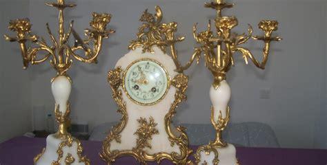 Tableau Peinture Moderne 3340 by Estimation Montre Horloge Pendule Et Ses Deux Candelabre