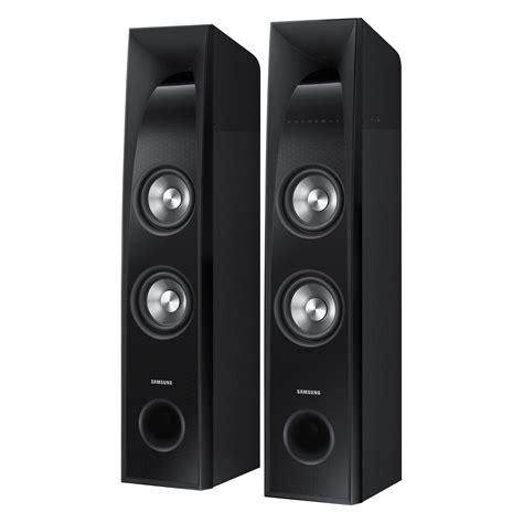 bluetooth sound tower speaker system black 2 2 ch