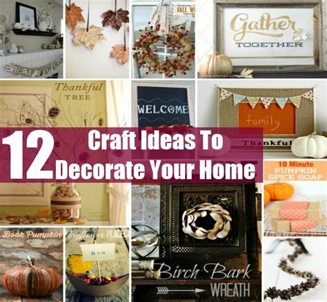 12 innovative and creative fall craft ideas to