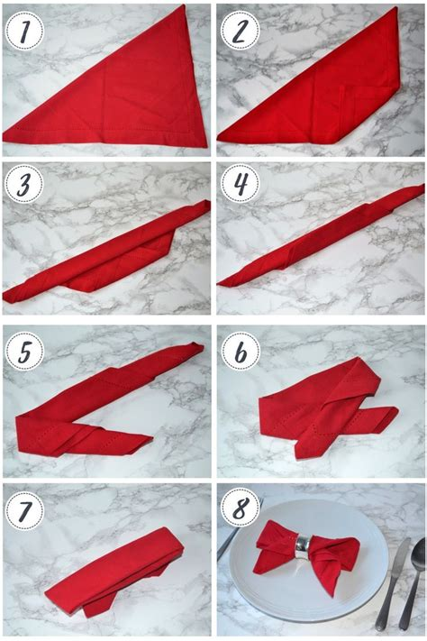 Table Napkin Origami - the 25 best napkins ideas on folding napkins