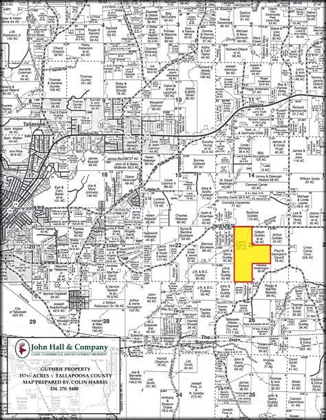 Tallapoosa County Alabama Property Records 160 Acres Farm Tallapoosa County Al Land And Farm