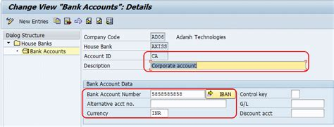 house account define house bank in sap house banks overview