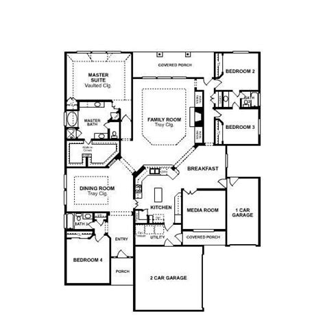 one story floor plan 9 best images about houses floor plans on home