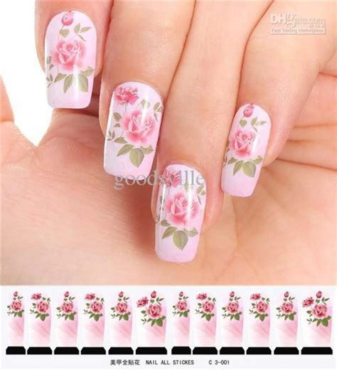 Diskon Stiker Kuku Water Decal Nail Stickers Flowers 1 inilah yang nail dan kutek kukumu katakan mengenai