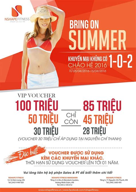 Voucher Diskon Shopee 15 000 bring on summer 2016 nshape fitness