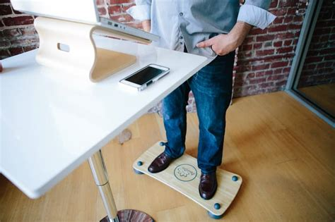 wobble board standing desk the easy balance board pono ola