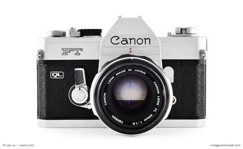 Kamera Canon Vintage canon ft ql vintage lab