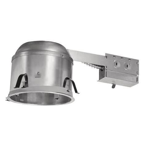 halo recessed lighting housing halo h27 6 in aluminum recessed lighting housing for