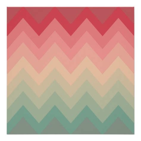 pink ombre pattern pastel red pink turquoise ombre chevron pattern zazzle