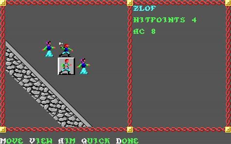 pool of radiance download 1988 role playing game download pool of radiance rpg for dos 1988 abandonware dos