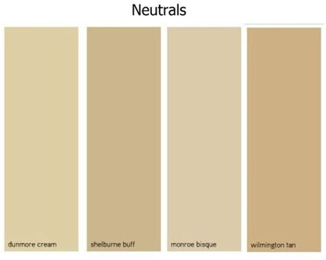 benjamin best neutral paint colors