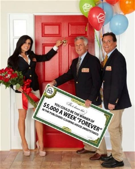 publisher clearing house sweepstakes publishers clearing house announces unprecedented 5 000 a week forever sweepstakes