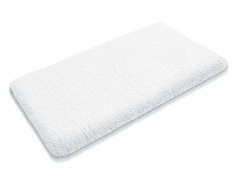 White Mat by Sky Bath Mats Snow White Available In 6 Sizes