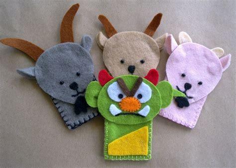 Felt Handmade Craft - the three billy goats gruff 10 handpicked ideas to
