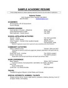How To Write A Resume For Scholarships by Scholarship Resume Template Berathen