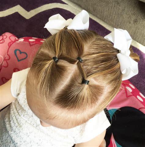 Simple Split Elastics   Easy Toddler Hairstyles