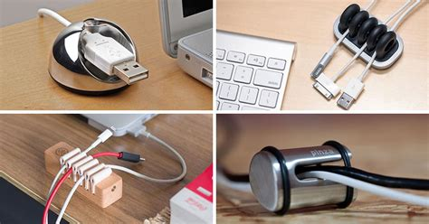 cable holder for desk 11 creative cable holders that stop the cables falling