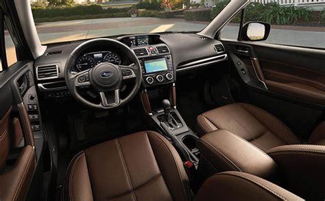 Subaru Forester Leather Interior by 2017 Subaru Forester In Jacksonville Fl Serving Orange Park Fl