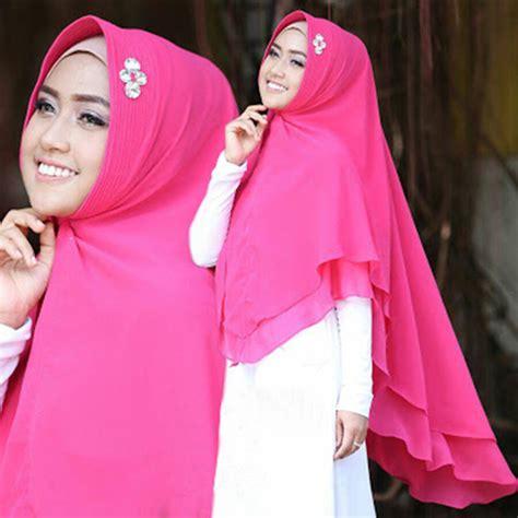 Jilbab Khimar 2017 model jilbab khimar ellya 2017