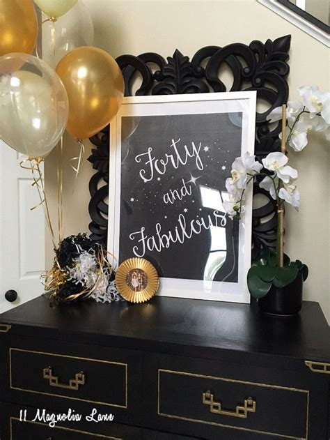 Fabulous At 40 Decorations by Forty And Fabulous Birthday 11 Magnolia