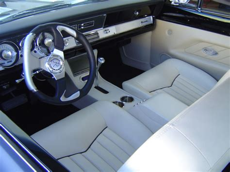 Custom Interior Upholstery by Frank S Rods Upholstery Barracuda Custom Leather