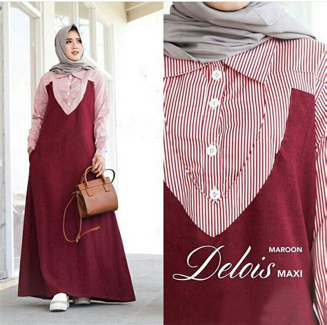 Baju Wanita Gamis Aleysa Jumbo Maxy Muslim Modern Modis Unik Cantik gamis remaja terbaru maxi delois baju muslim modern
