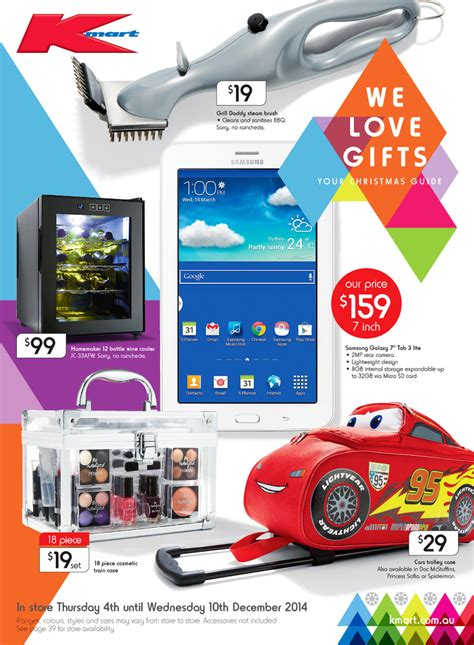 kmart christmas gifts kmart catalogue 2014 gift ideas