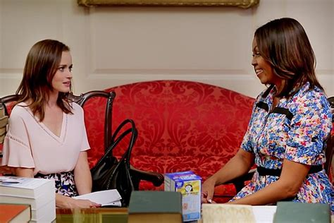 Rory Gilmores Book Club by Rory Gilmore Visit Obama With Some Serious
