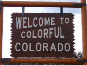 colorful colorado welcome to colorful colorado sign larimer county