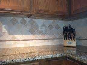 Natural Stone Backsplash Kitchen Pinterest