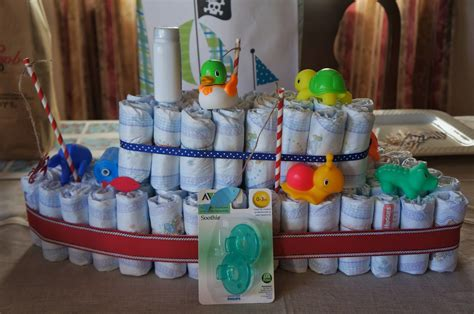 Fish Themed Baby Shower by Something For Your Tummy Fishing Themed Baby Shower
