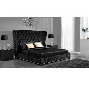 Bed Frames King Size Wooden Dhp Luxe Premium Black Velvet Upholstered Bed