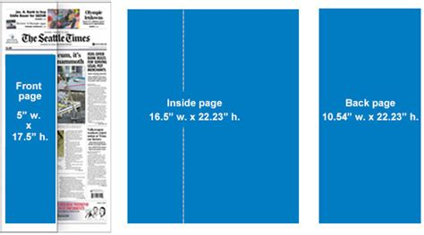 newspaper theme full width print specs the seattle times media kit advertise with us