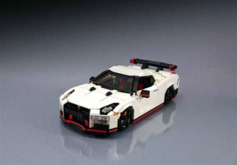 lego cars lego fan builds awesome nissan gt r nismo replica