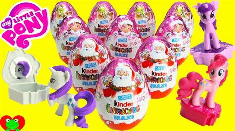 my pony kinder maxi eggs