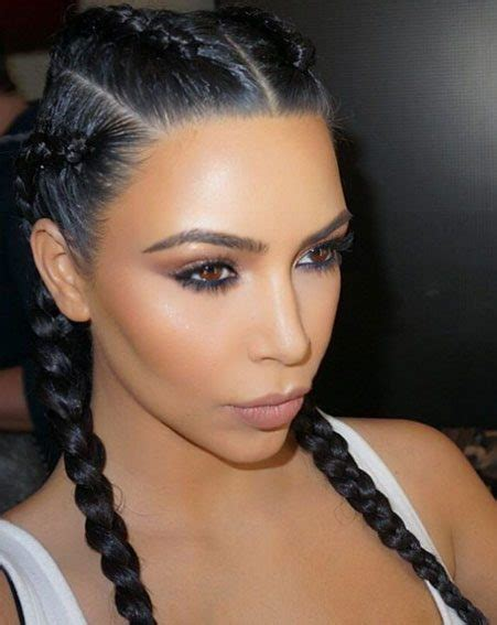braided hairstyles makeup why the kardashian french braid trend can actually benefit